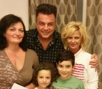 01.Regizor Mariana Pachis, actori Claudia Motea, Adrian                     Enache, copiii Irina Rusu si Alex Marcarov