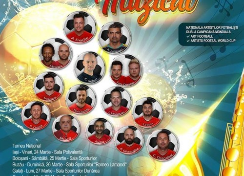 "Turneul național ""Fotbal muzical"""
